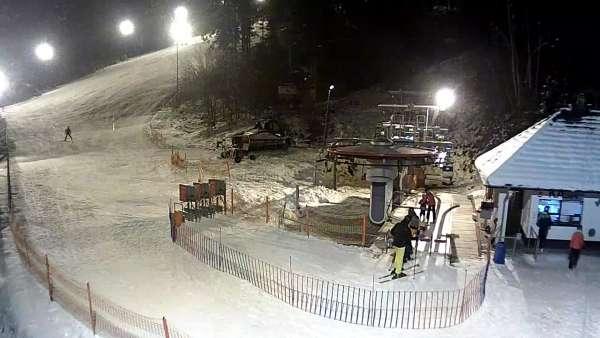 Widok na Sport Arena Myślenice - bramki