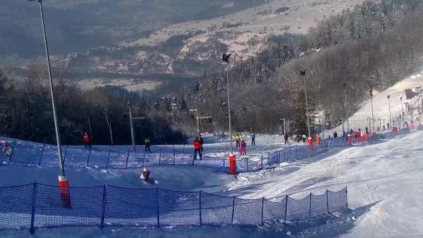 Widok z Kamery Palenica-Szafranówka