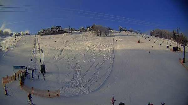 Widok z Kamery na TURNIĘ w Bukowinie Tatrzańskiej