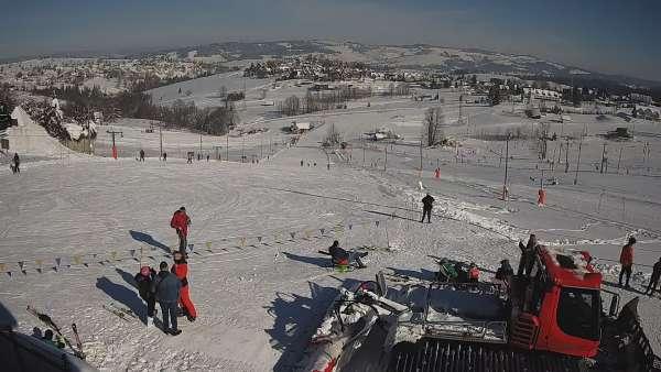 Obraz na ZWYRTLIK ośrodek narciarski w Bukowinie Tatrzańskiej.