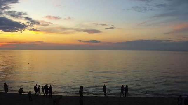 Zdjęcie z kamery Grzybowo - widok na plażę