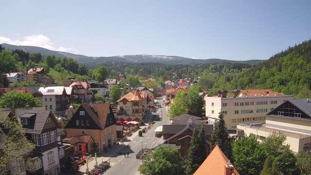 Zdjęcie z kamery Karpacz - panorama miasta
