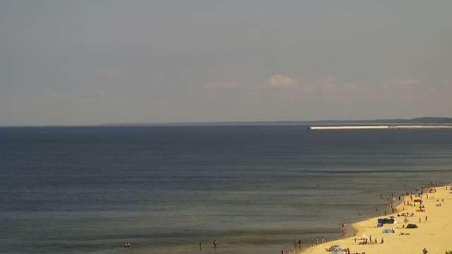 Zdjęcie z kamery KĄTY RYBACKIE - plaża