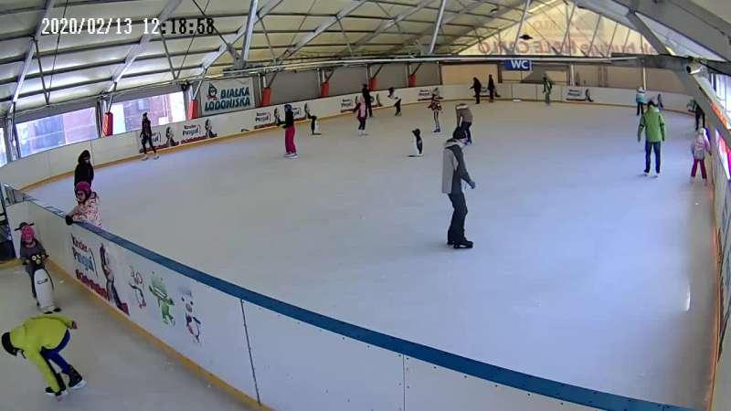 Zdjęcie z kamery Białka Tatrzańska - lodowisko
