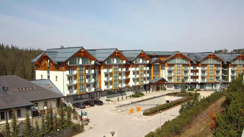 Kamera z widokiem na Bukovina Hotel