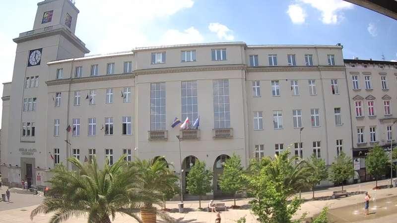 Widok z Kamery na Rynek w Chorzowie - NOWOŚĆ