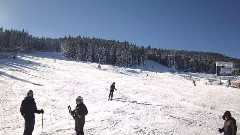 Obraz z kamery online w ośrodku narciarskim Czarna Góra Resort