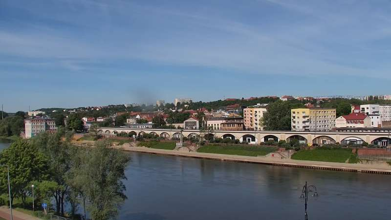 Widok panoramiczny z Kamery na miasto Gorzów Wielkopolski - NOWOŚĆ