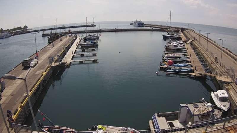 Zdjęcie z kamery HEL - marina