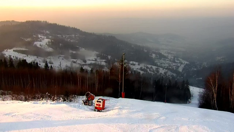 Zdjęcie z kamery Jastrzębica SKI Przyłęków k. Żywca NOWOŚĆ!