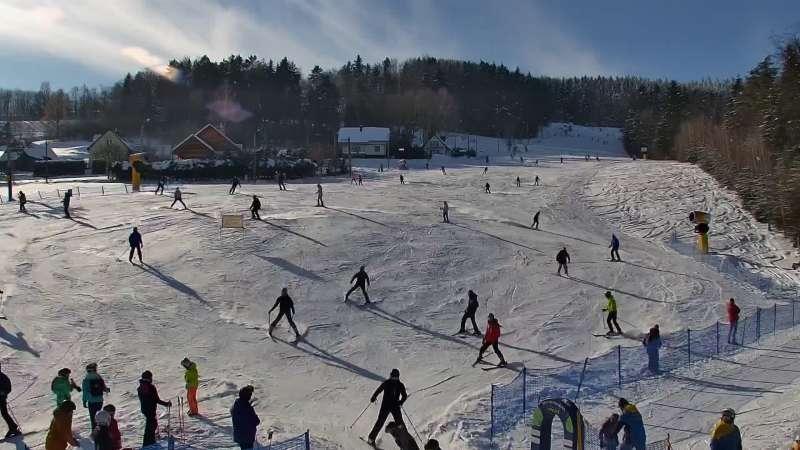 Laskowa Kamionna - ośrodek narciarski w Beskidzie Wyspowym.