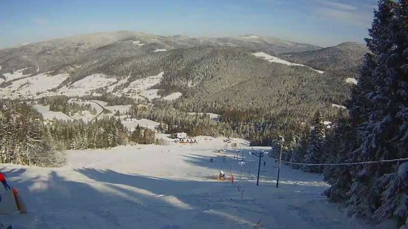 Obraz z górnej stacji Lubomierz-ski