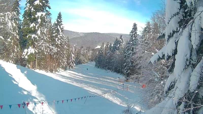 Zdjęcie z kamery Magura SKI