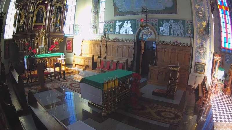 Ołtarz z parafii pod wezwaniem Świętego Mateusza w Gniewczynie Łańcuckiej