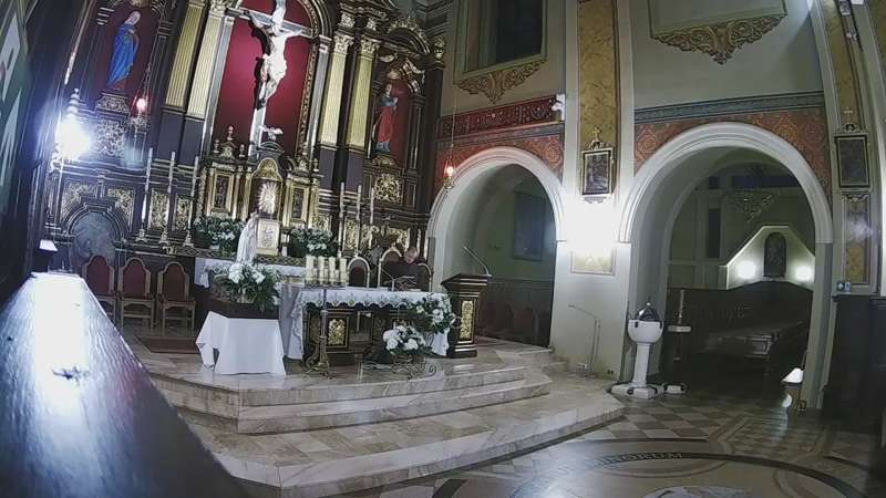 Obraz na Ołtarz w Parafii Trójcy Przenajświętszej w Jarosławiu.