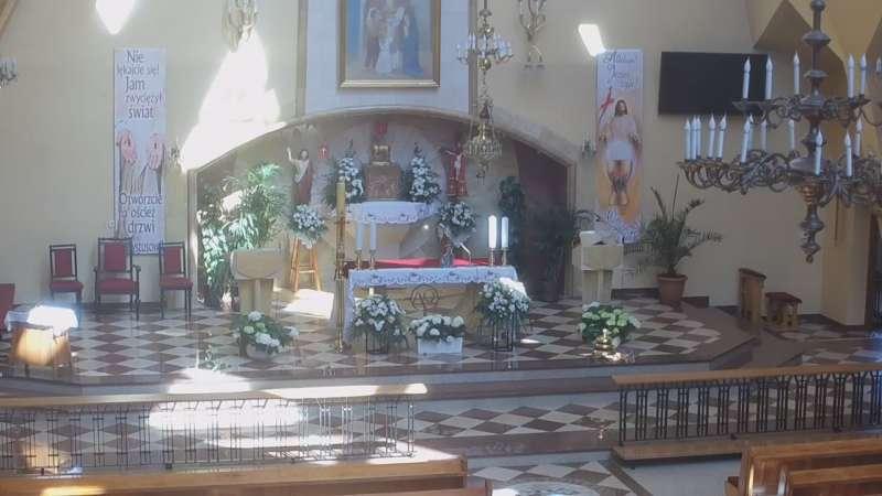 Kamera z widokiem na Ołtarz w Witanowicach