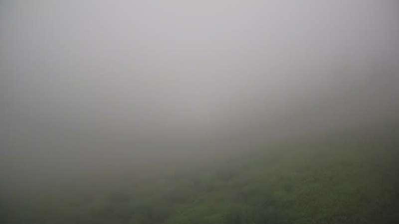 Pilsko - widok na górę Pilsko 1557m n.p.m. i czerwoną trasę nr 5 z Pilska do Hali Miziowej.
