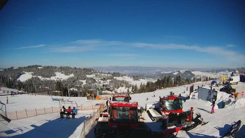 Bukowina Tatrzańska - sprawdzaj warunki na narty na stacji Rusiński