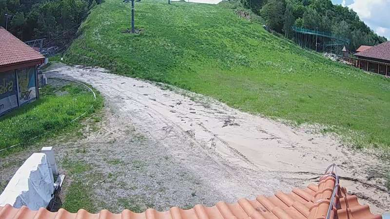 Zdjęcie z kamery Szwajcaria Bałtowska