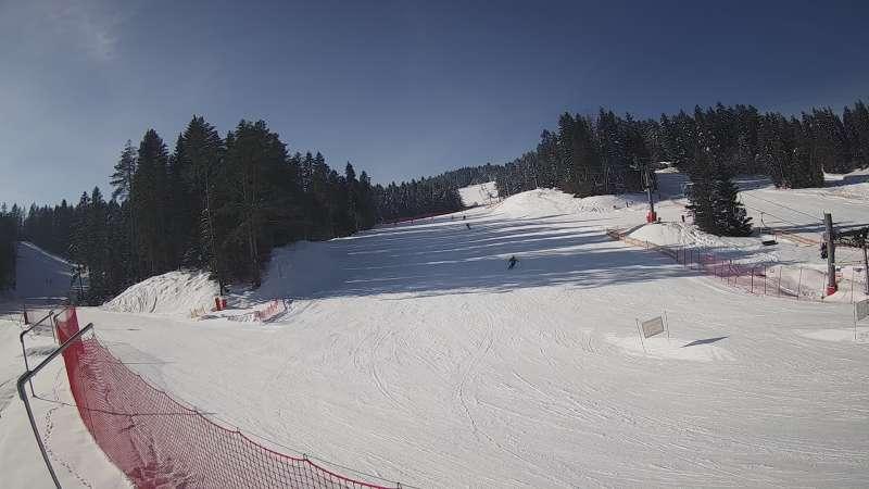 Widok z Kamery na stację narciarską TYLICZ.SKI