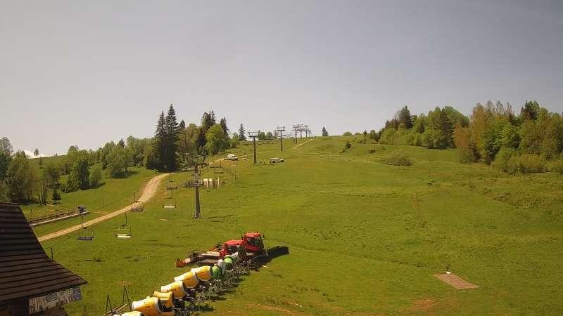 Widok z Kamery na Witów ski - NOWOŚĆ