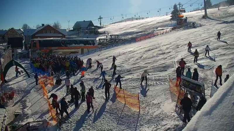Zdjęcie z kamery Zieleniec SKI Arena - Winterpol W3