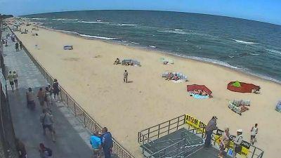 Wypoczynek w Sarbinowie z widokiem na morze. Pomachaj do kamery