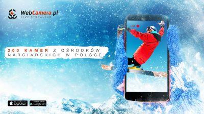 Pierwsza aplikacja mobilna od WebCamera dla narciarzy.