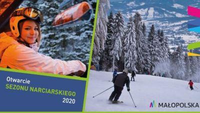 Zaproszenie na otwarcie sezonu narciarskiego w Małopolsce 2020 roku