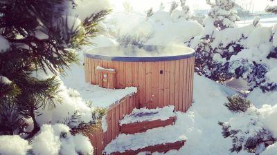 Domek w górach z banią i gorąca kąpiel - tego szukasz.