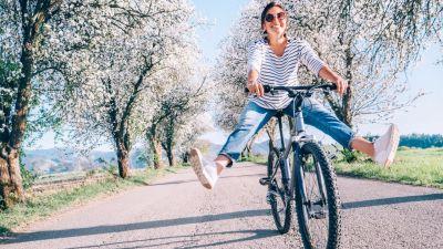 Wiosna na dwóch kółkach - rowerem przez Polskę