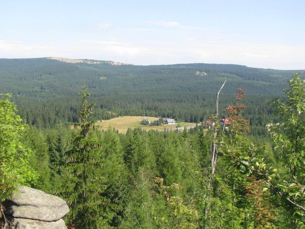 Panorama na Przełęcz Kocierską