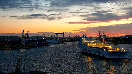 TimeLapse z Portu Morskiego w GDYNI