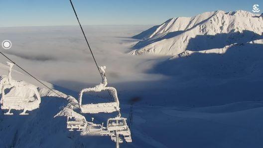Pierwszy śnieg na Podhalu