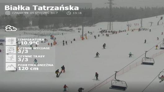 Film ze stycznia 2017 roku - ZIMA NA POLSKICH STOKACH.
