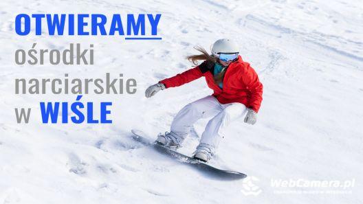 OTWIERAMY ośrodki narciarskie w WIŚLE