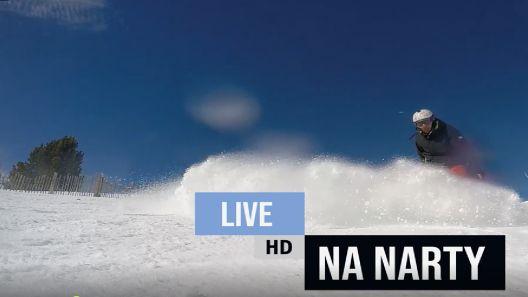 Zima, śnieg, mróz i otwarte stoki narciarskie w Polsce