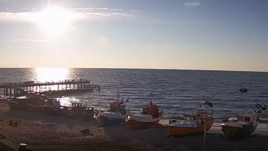 Zobacz TimeLapse z przystani rybackiej w Chłopach.