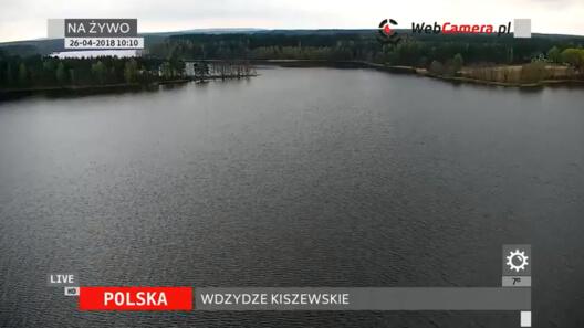 Zdjęcie z nowości Nowy widok na panoramę jeziora we Wdzydzach Kiszewskich