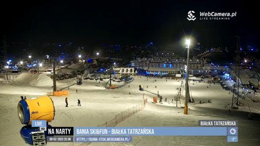 Zdjęcie z nowości Wieczorna jazda na wybranych stokach w Polsce. Śledzić sytuację na stokach możecie na bieżąco w zakładce TV - do wyboru 6 playlist.