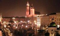 Kamery online z Rynku Głównego Krakowa. Posłuchaj Hejnału z Wieży Mariackiej.