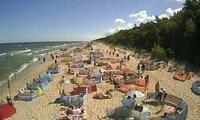 Widok na najpiękniejsze plaże od Świnoujścia po Rowy.